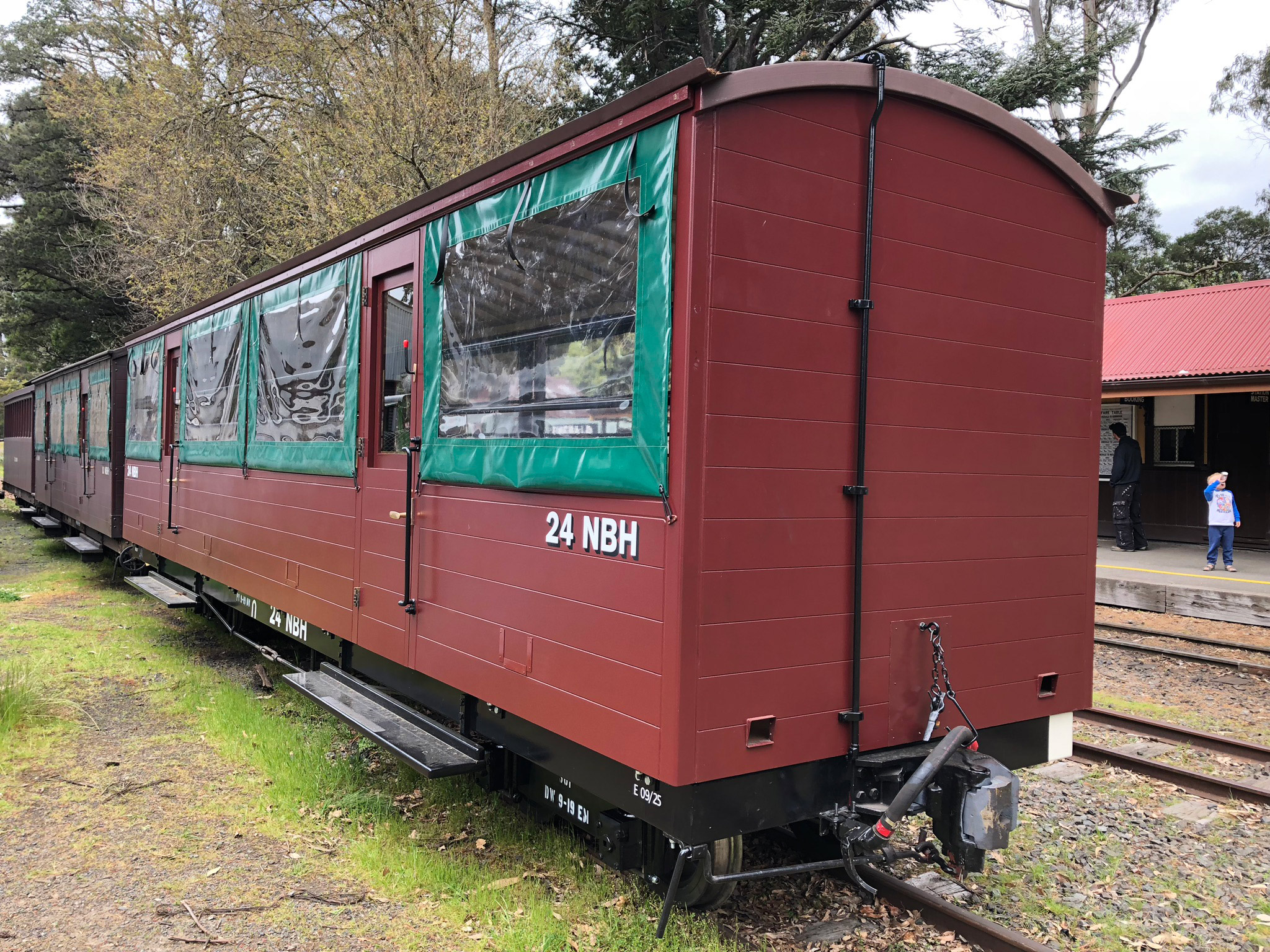 Tradeweld Puffing Billy carriage project photo