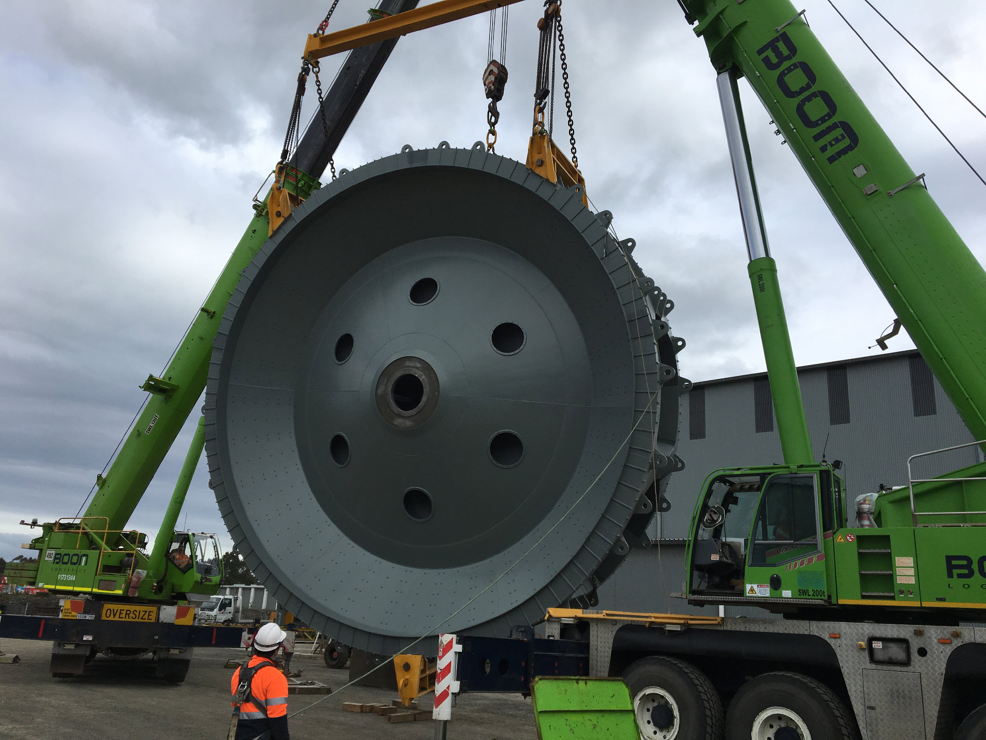 Tradeweld D14 Bucket Wheel project photo