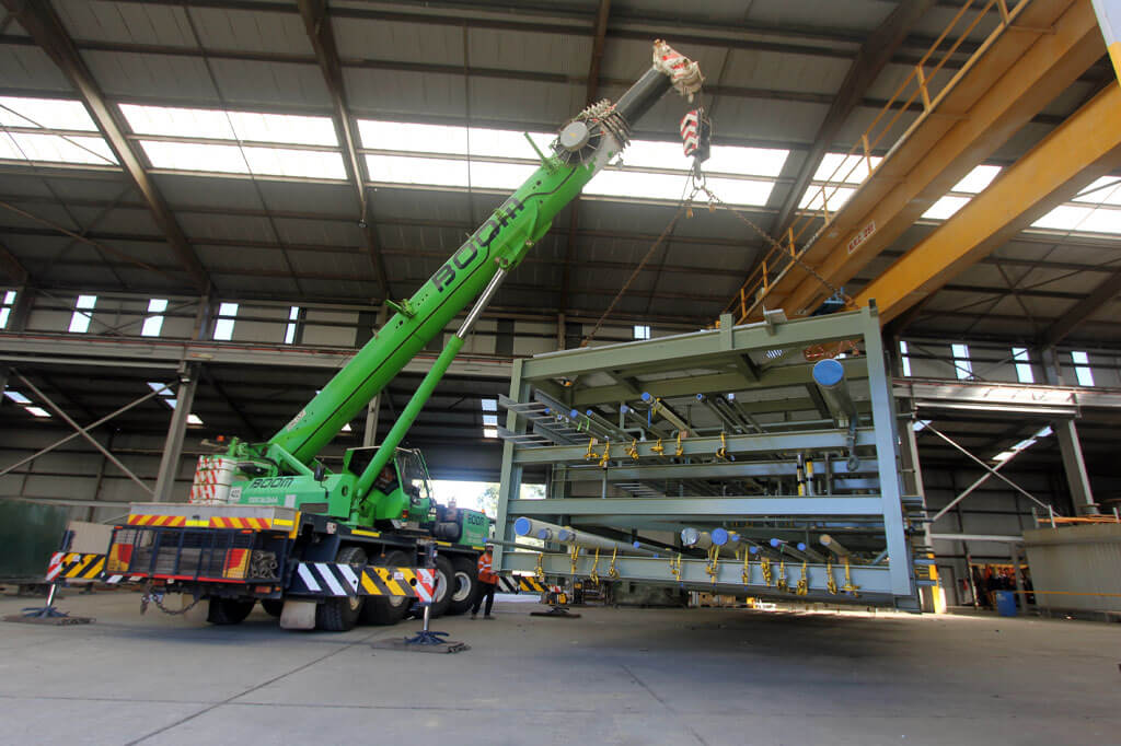 Loading the Gas Module for Orbost Gas Plant at Tradeweld