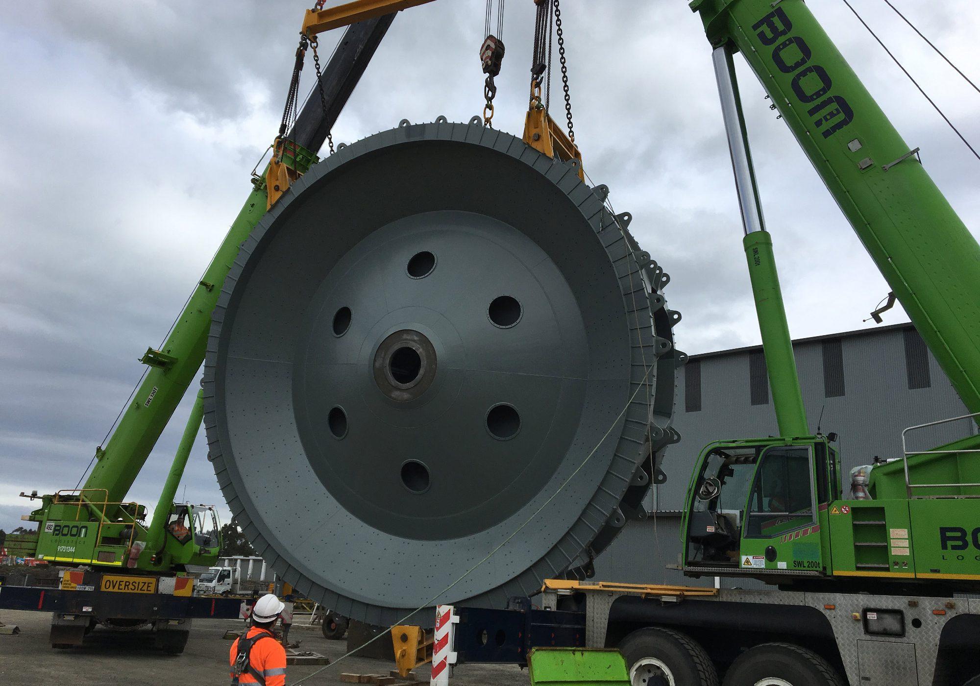 Tradeweld D14 Bucket Wheel project photo